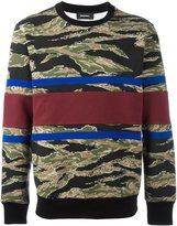 Diesel abstract pattern sweater