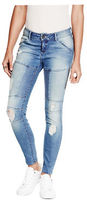 G by Guess GByGUESS Women's Amya Moto Curvy Jeans