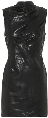 RtA Holly leather minidress