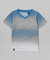 Micros Cobalt Blue V-Neck Tee - Toddler