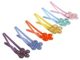Goody Girls' Flower Contour Clips - 12 ct