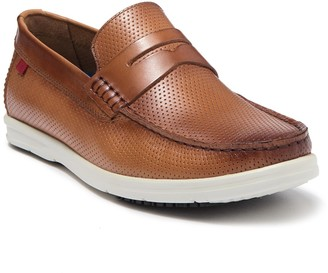 Marc Joseph New York Southport Perforated Leather Loafer
