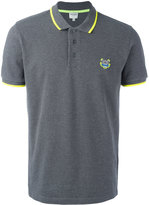 Kenzo Tiger Logo Cotton Polo Shirt