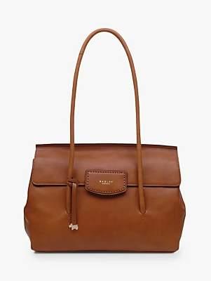 Radley Indigo Place Leather Large Flap Over Shoulder Bag