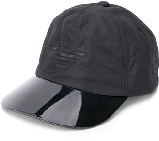 Emporio Armani Contrasting-Visor Logo Cap