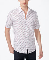 Alfani Men's Classic-Fit Geometric Print Shirt, Created for Macy's