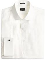 J.Crew Ludlow pleated tuxedo shirt