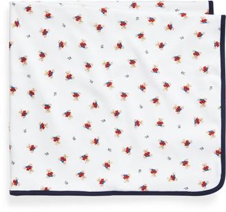 Ralph Lauren Polo Bear Cotton Blanket