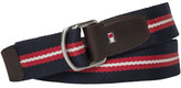 Tommy Hilfiger Th Stripe Webbing Belt