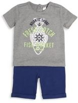 Petit Lem Infant's Graphic Tee Set