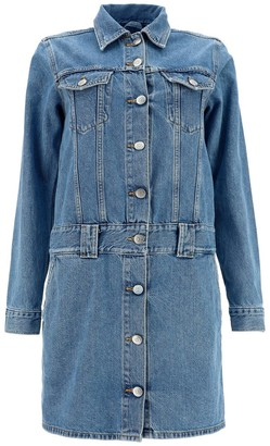 Ganni Denim Mini Dress