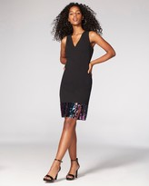 Vince Camuto Sequin-band Sheath