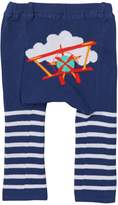Doodle Pants Red Plane Stripes Pant (Baby Boys)