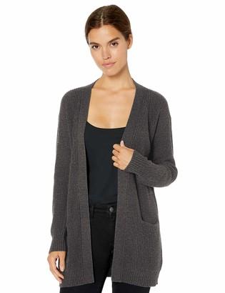Daily Ritual Amazon Brand Women's Wool Blend Open Cardigan Sweater