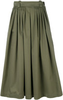 Golden Goose Deluxe Brand full midi skirt - women - Cotton/Spandex/Elastane/Wool - 38