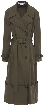 J.W.Anderson Cotton-gabardine Trench Coat