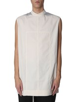 Rick Owens top with laminated insert