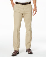 Izod Men's Flat-Front Slim-Fit Advantage Performance Cotton Pants