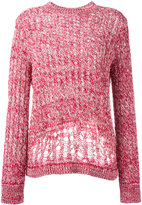Joseph cable knit jumper - women - Cotton/Spandex/Elastane - XS