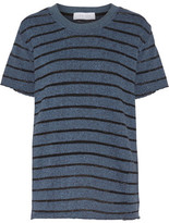 IRO Striped Cotton-Blend T-Shirt