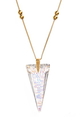 Alex and Ani Swarovski Crystal Infusion Pendant Necklace