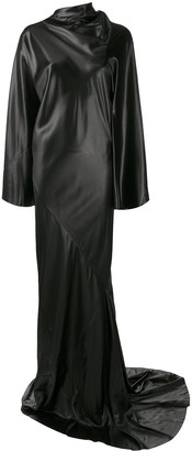 Rick Owens Draped Evening Dress