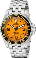 DETOMASO Men's DT1007-A SAN MARINO Automatic Divers Watch Trend gelb/silber Analog Display Japanese Automatic Watch