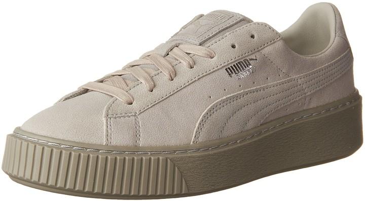 Puma Basket Platform Sneakers   Shop