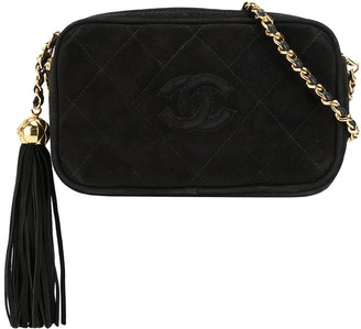 Chanel Pre Owned 1992 CC tassel shoulder bag