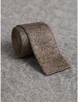 Burberry Slim Cut Knitted Silk Tie