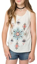 O'Neill Frill Graphic Tank (Little Girls & Big Girls)