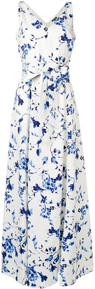 Lauren Ralph Lauren Tivianna floral print gown