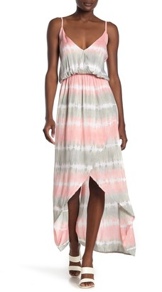 Tiare Hawaii Boardwalk Tie-Dye High/Low Dress