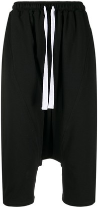 Alchemy Cropped Dropped-Crotch Trousers