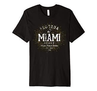 Retro Vintage Miami Beach Premium T-Shirt