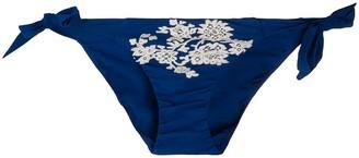 Carine Gilson Lace Applique Swim Bottom