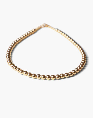 Madewell Charlotte Cauwe Studio Bead Necklace in Gold