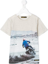 Finger In The Nose motorbike print T-shirt - kids - Cotton - 2 yrs