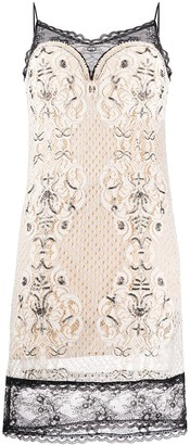 Twin-Set Lace Cami Dress