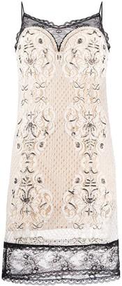 Twin-Set Twin Set lace cami dress