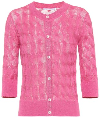 Agnona Cotton and silk-blend cardigan