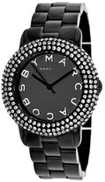 Marc by Marc Jacobs MBM2193 Black Tone Stainless Steel Bracelet Womens Watch