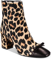 Kate Spade Orton Cheetah-Print Booties
