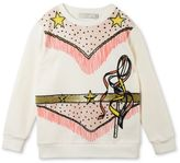 Stella McCartney cream betty cowgirl print sweatshirt
