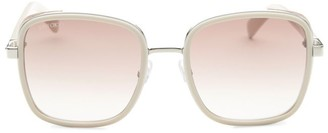 Jimmy Choo 54MM Elvas Rhinestone Square Sunglasses