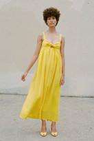 Mara Hoffman Tie Front Ankle Dress