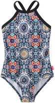 Seafolly Girls' Gypsea Water Tank One Piece Swimsuit (616) - 8147998