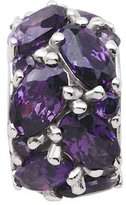 Persona Crystal Dolce Violet Charm fits Pandora, Troll & Chamilia European Charm Bracelets
