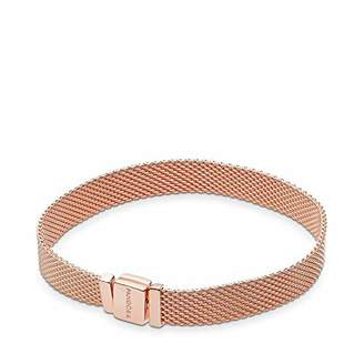 Pandora Women Gold Plated ID Bracelet - 587712-18