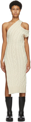 Telfar Off-White Sweater Tank Dress
